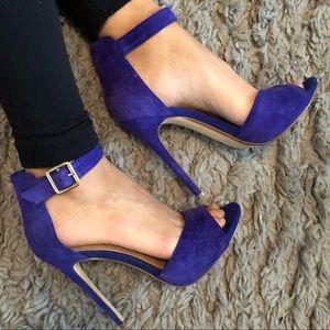 Blue Steve Madden Heels